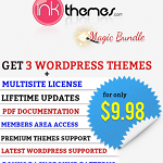 3 Premium WordPress Themes Special Discount