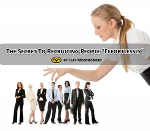 recruiting people